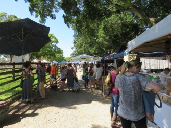 Mullum farmers market
