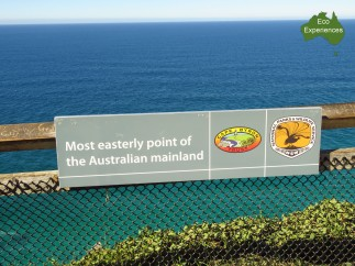 The most easterly point on Australia's mainland
