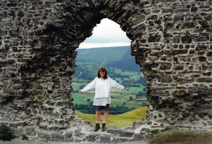 Castell Dinas Bran, Llangollen, Wales  (1997)