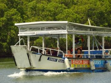 Byron Cruise and Kayaks Boat