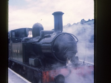 Welsh Steam Train (1970's)