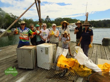 Clean up on the Brunswick River