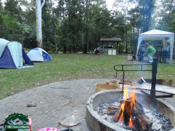 Camping at Rummery Park